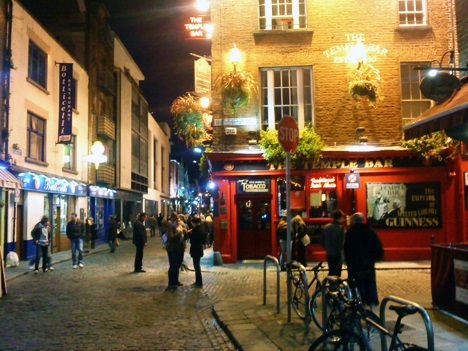Temple Bar in Dublin, Ireland
