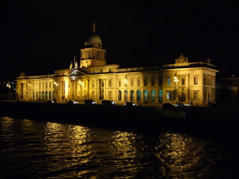Custom House in Dublin, Ireland